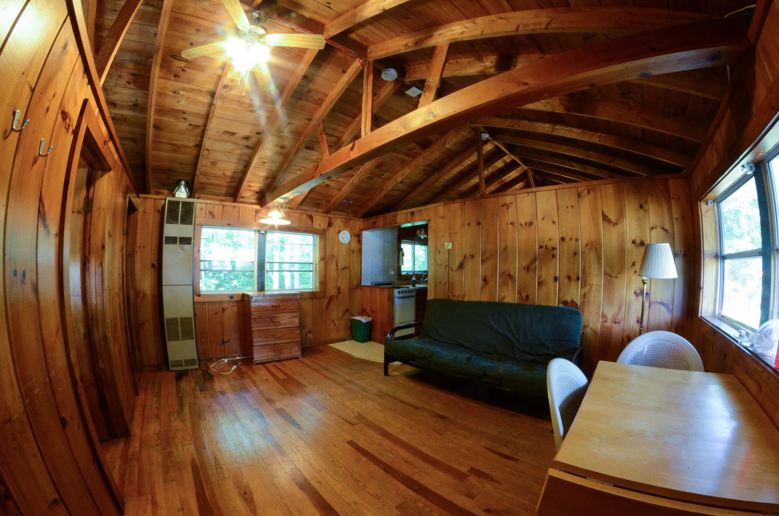 Summer Camp Cabin Interior Lounge