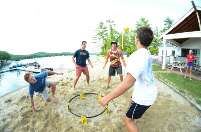 Spikeball beach kids summer camp