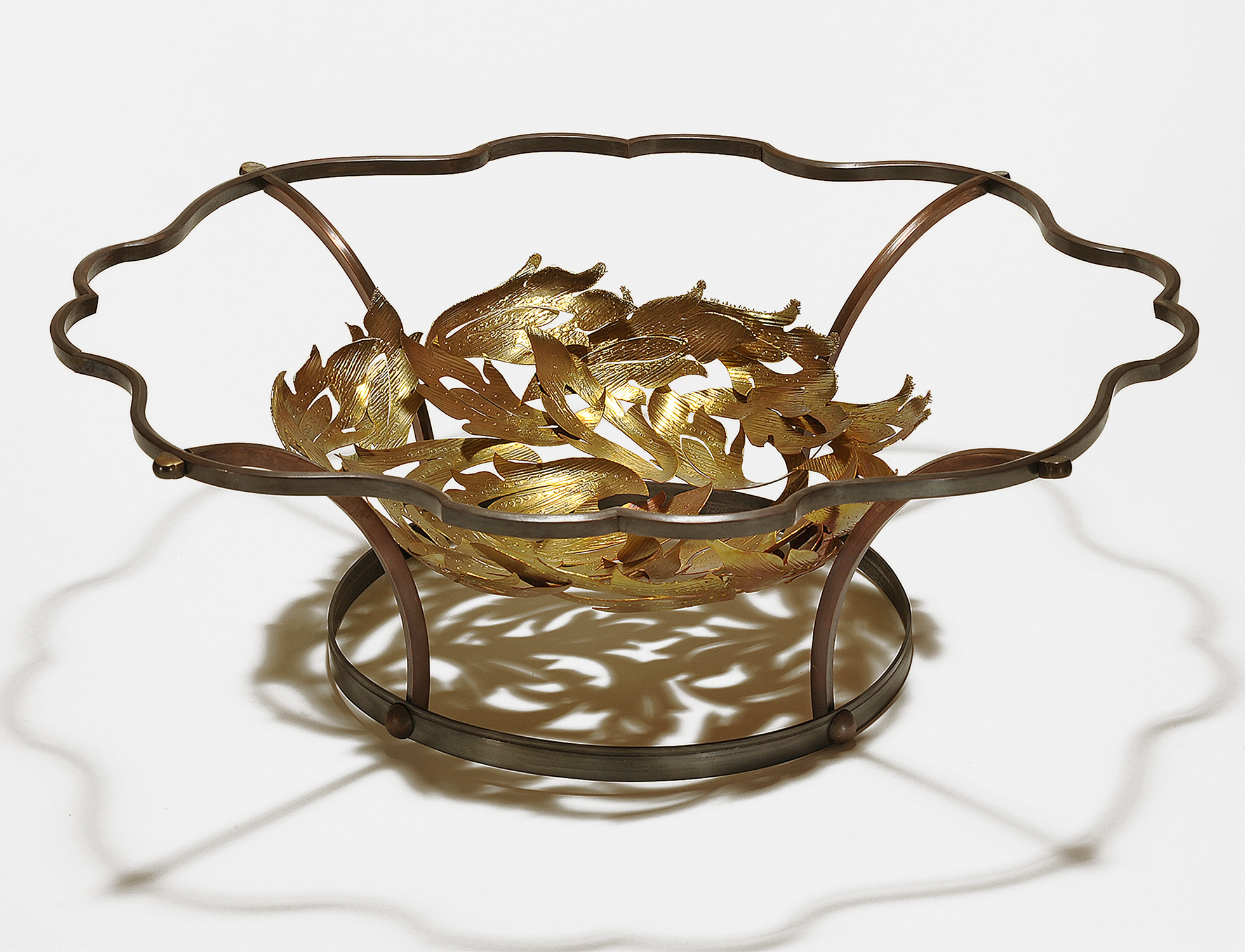 Offering  |  2012  |  brass, copper  |  5.25 x 16 x 16 inches