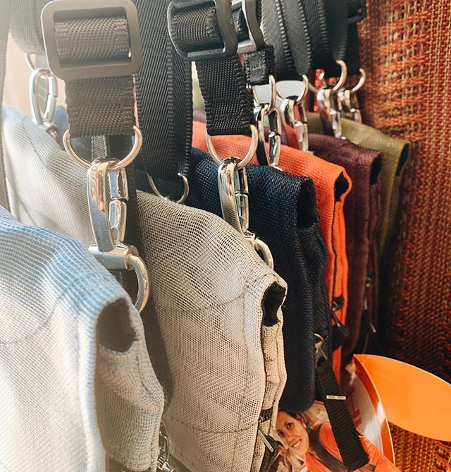 Lots of new bags, sunglasses cases, wallets, and more just in! 👜
