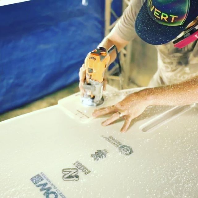 Fin box in the fun box. #fcs #sustainablesurf #entropyresin #protectourwinters #teamridgid