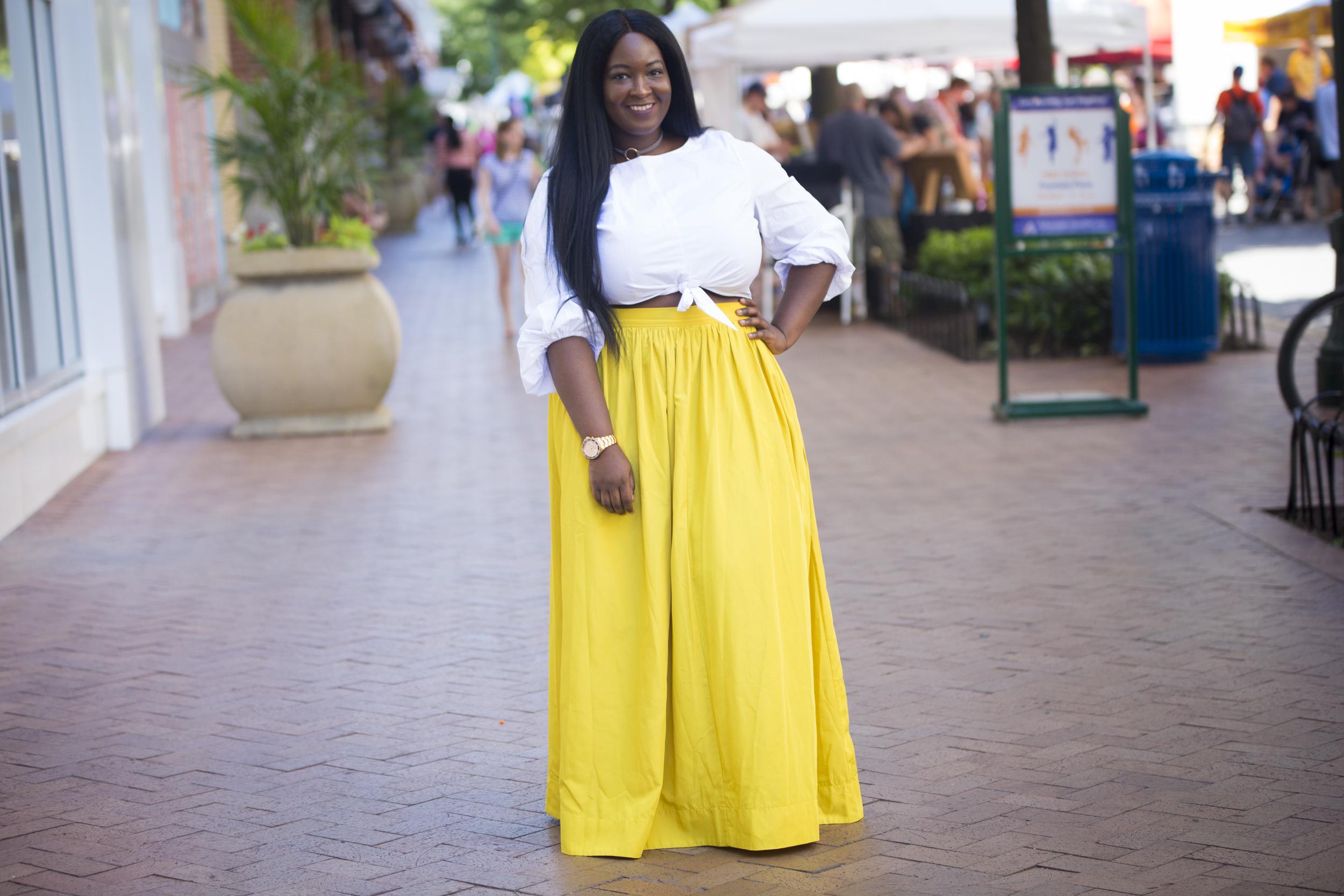 Top + skirt: Eloquii