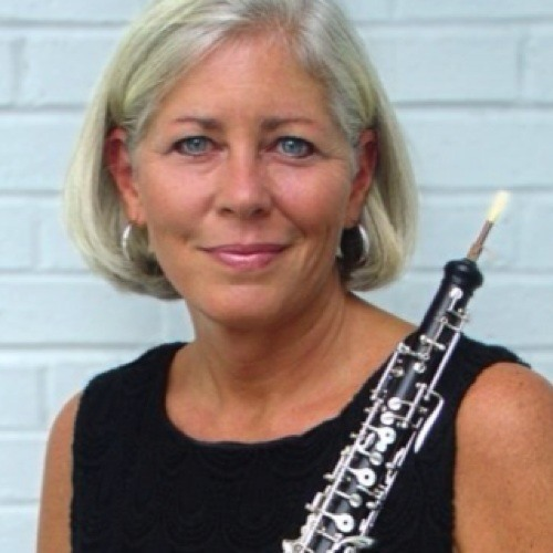 """Petrea Warneck - Oboe & Alexander Technique (Week 1)   Oboist Petrea Warneck performs extensively throughout the Carolinas as an orchestral and chamber musician. She is Co-Principle Oboist and solo English Hornist of the South Carolina Philharmonic and substitute oboist with the North Carolina, Charlotte, Charleston, Greenville and Spartanburg Symphony Orchestras. She has a distinguished reputation as an oboe instructor in the southeast. Covering the Carolinas from east to west, she has a private studio at home in Columbia and she is the oboe instructor at Furman University and the SC Governor's School for the Arts in Greenville, SC. In past years she has taught oboe at USC-Columbia, Clemson University, Presbyterian College (Clinton, SC), and the University of NC Wilmington.  A native of New York State, Ms. Warneck has had an active career in the field of arts management, first in NYC with Colbert Artists Management, Inc., and subsequently in Berlin, Germany, where she resided for five years assisting her husband, Diether Warneck, artist agent for the renowned baritone, Dietrich Fischer-Dieskau. Upon returning to the U.S. in 1994 she co-founded The Chamber Music Society of Wilmington (NC) and served as the executive director for the first decade of the series. Thereafter she continued her affiliation with the organization as its' Principal Oboist and Executive Director Emeritus.  Ms. Warneck is passionately involved in the performance of new music for her instrument. In 2006 she commissioned a work for solo oboe by Mark Kilstofte, entitled """"Inner Voices"""", which she premiered at the International Double Reed Society Conference in Ithaca, NY in July 2007. The piece is a tribute to the legendary oboist, John Mack - former principal oboist of the Cleveland Orchestra and Ms. Warneck's teacher of over 25 years. She credits his influence and teaching pedagogy for her continual development as a musician and educator throughout her career.  Ms. Warneck obtained a Master's de"""