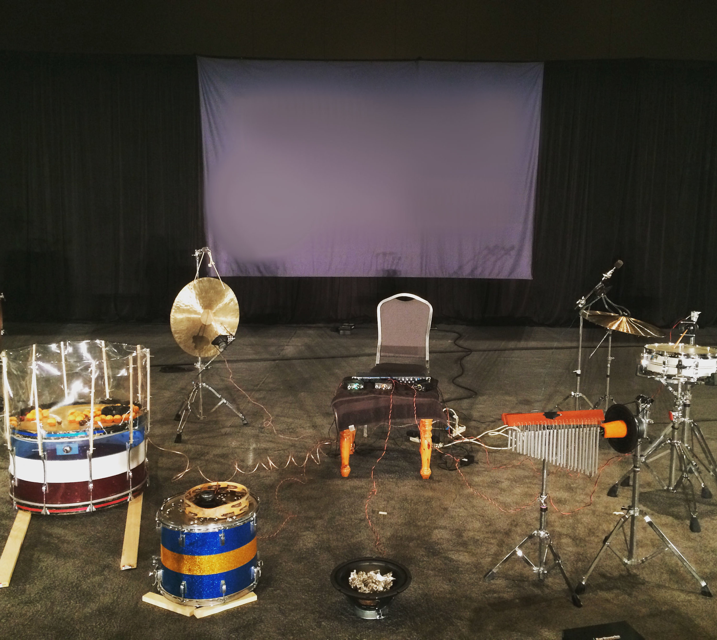 Music for Solo Performer, as presented at PASIC 2015