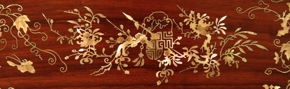 Mother-of-pearl marquetry