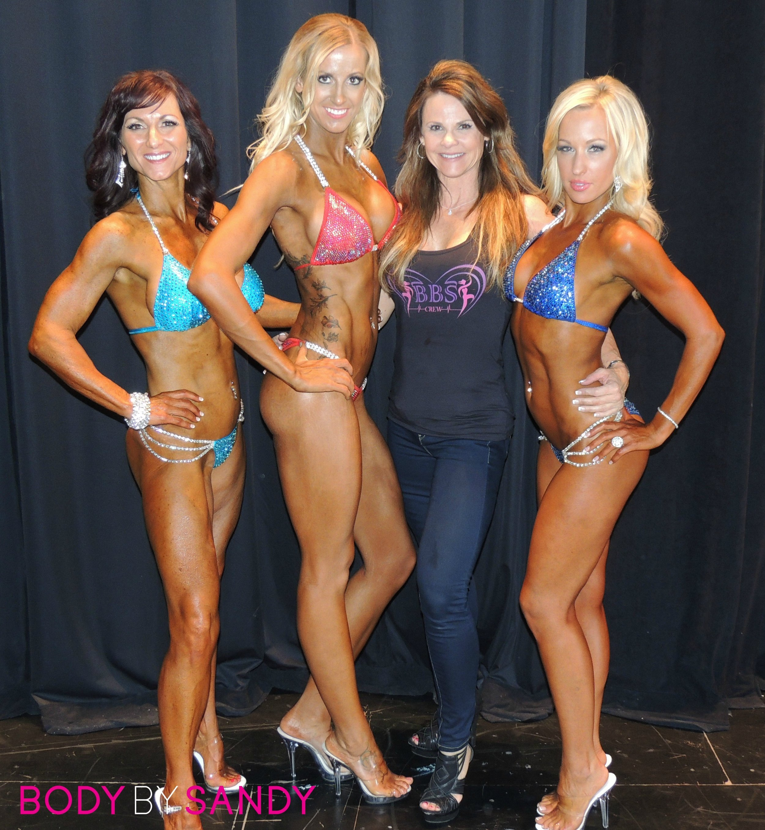 2015 NPC Warrior Classic-Me with the girls backstage.jpg