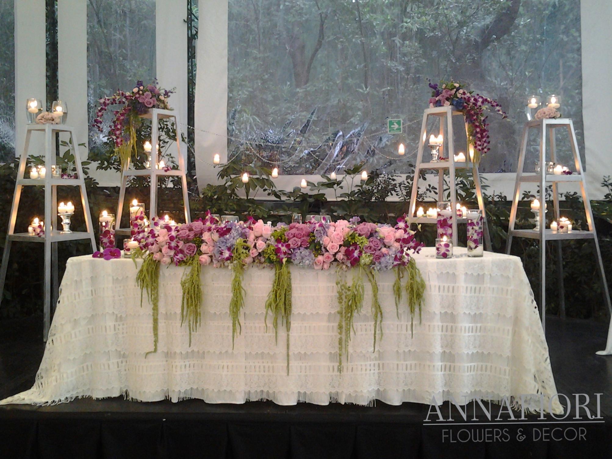 decoración de mesa de novios by Annafiori.jpg