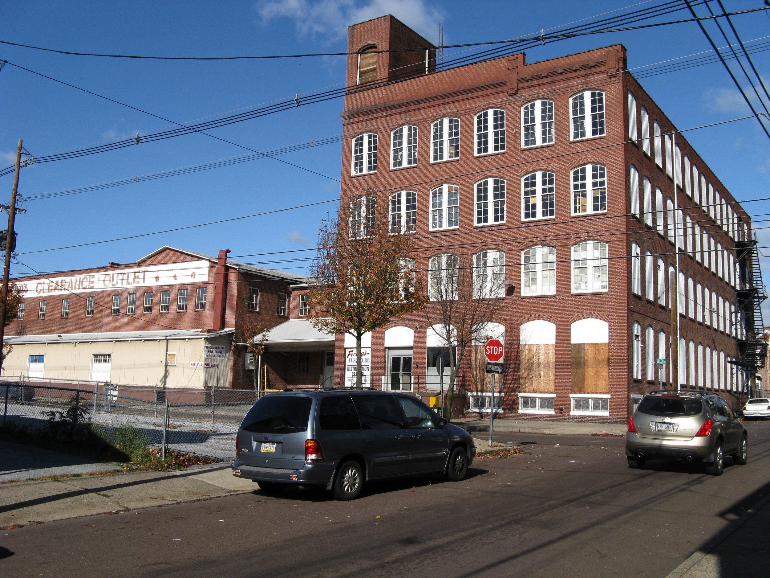 Warehouse shop in Pottstown, PA. 2008