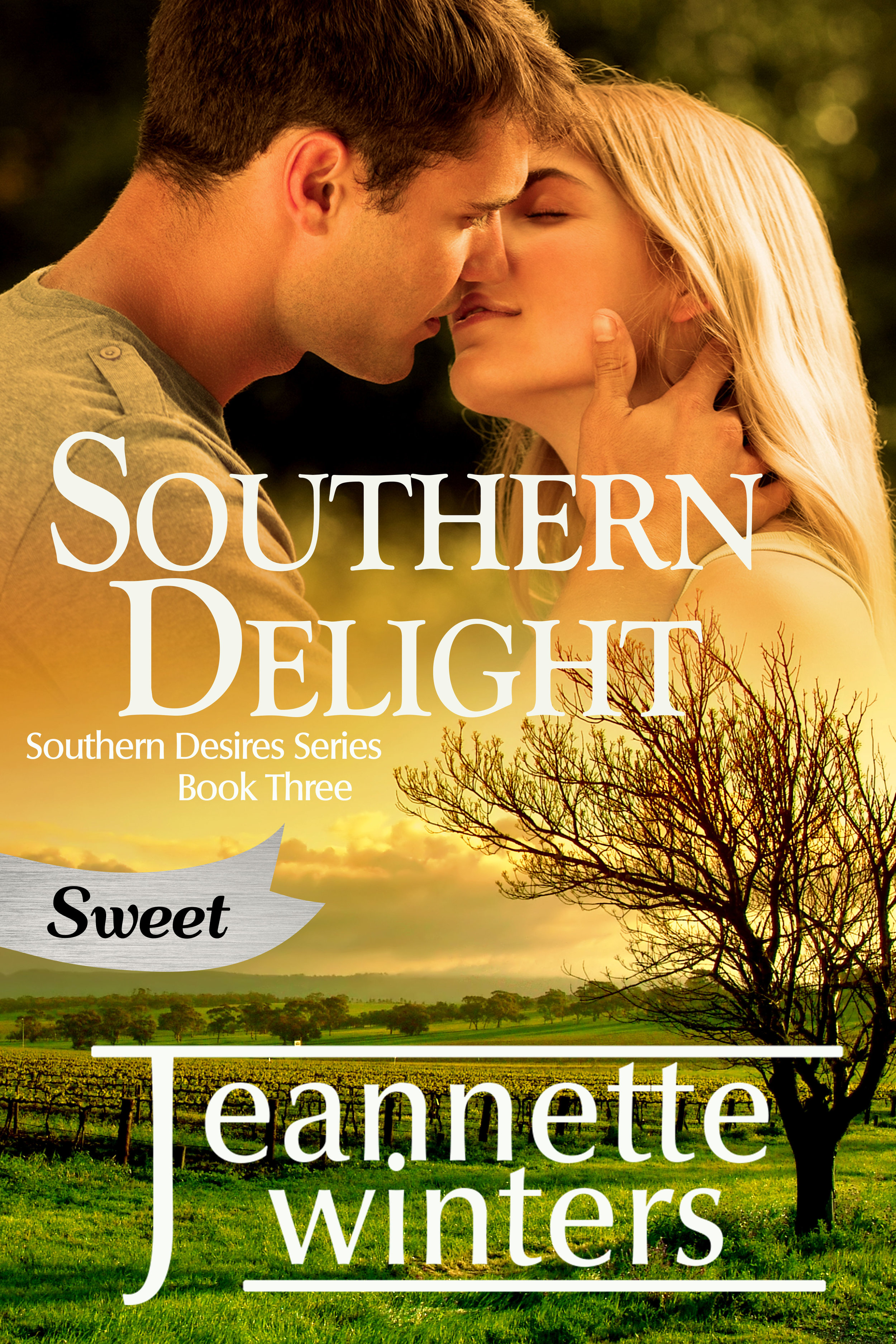 Enjoy this clean and wholesome version of Southern Delight. Same story without the spice. The Sweet version still contains adult situations and relationships. If you prefer the hotter version be sure to download the original.  Don Farrell believes in working hard and playing even harder. The only thing he took seriously was business. Finding out there was a target on his back only made him more determined to succeed.  Bailey Tasca had been confident and outgoing. Her tomorrows had been filled with dreams of someday making it big as a comedian, but her laughter stopped the day the doctor told her the results: cancer. Now she struggles to redefine herself.  When Don and Bailey meet up again at a friend's wedding, the one thing neither wanted was to find the chemistry they'd shared in the past now even more explosive.  Don realizes it doesn't matter what he achieves if Bailey is not by his side to share it. Can he reach Bailey behind her high walls of insecurities and doubt? Bailey must let go of her newly acquired inhibitions and open herself up, both emotionally and physically, if she ever wants her happily ever after. Can their love heal even the deepest wounds?