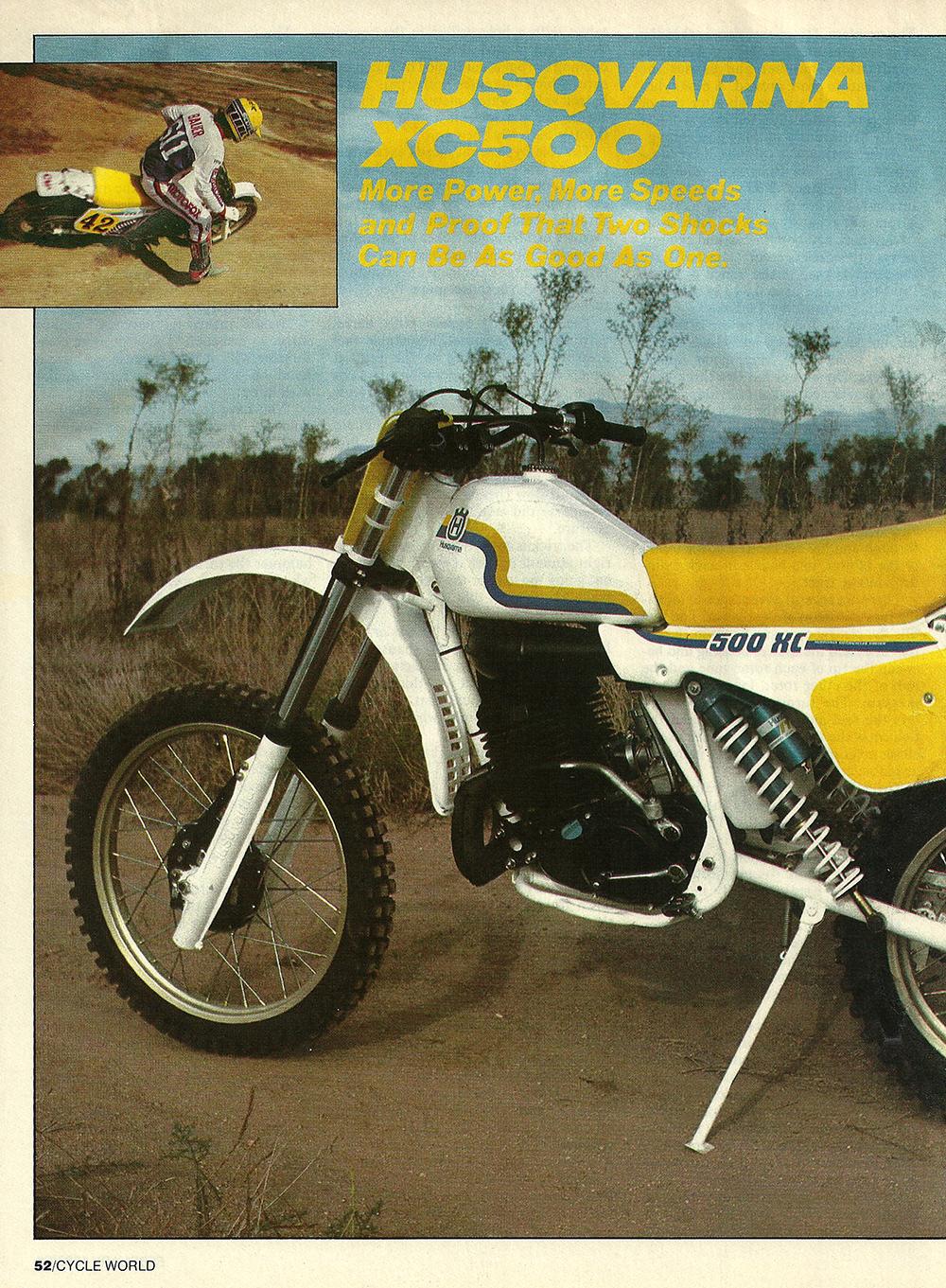 1983 Husqvarna XC500 road test 01.jpg
