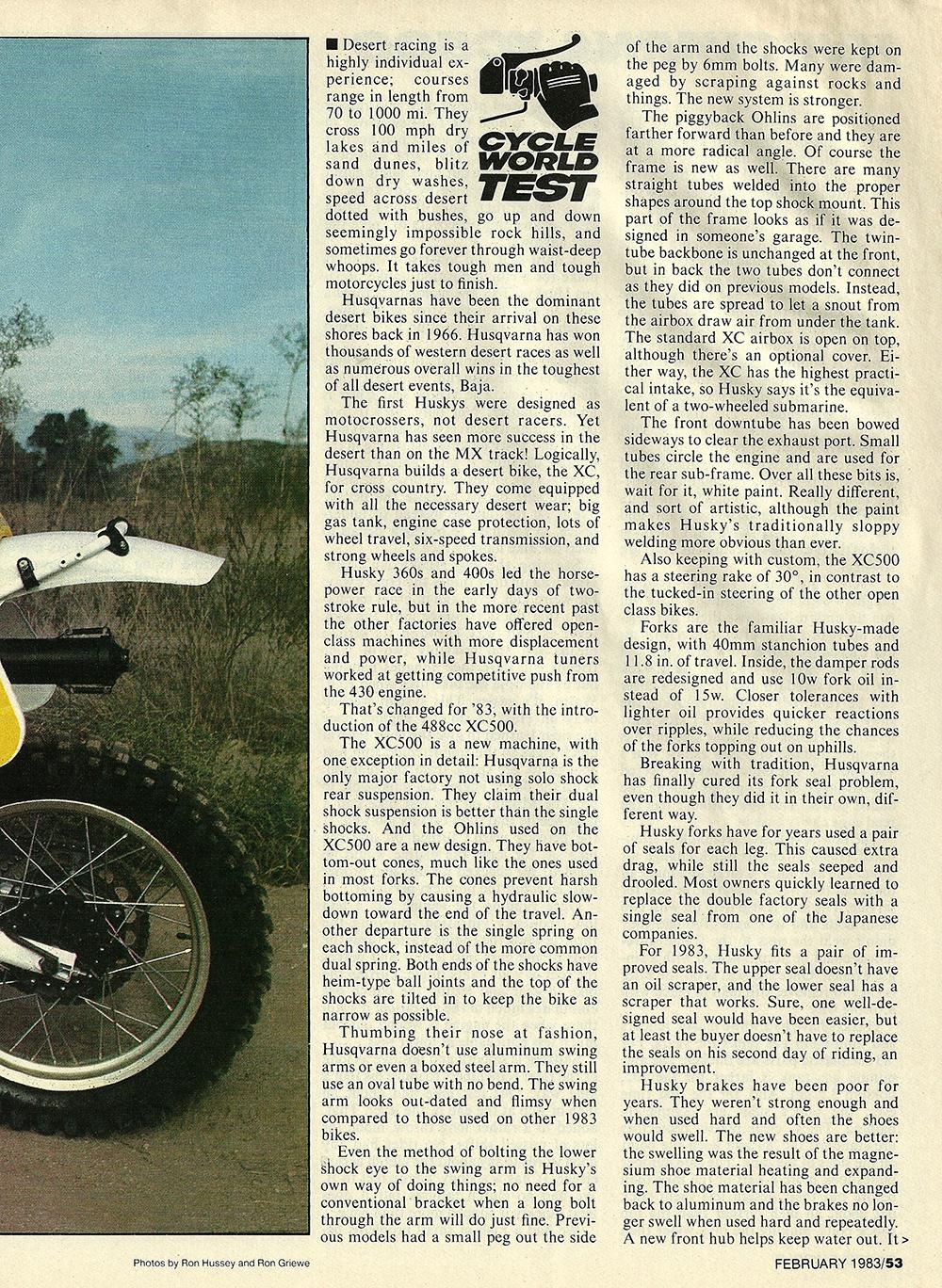 1983 Husqvarna XC500 road test 02.jpg