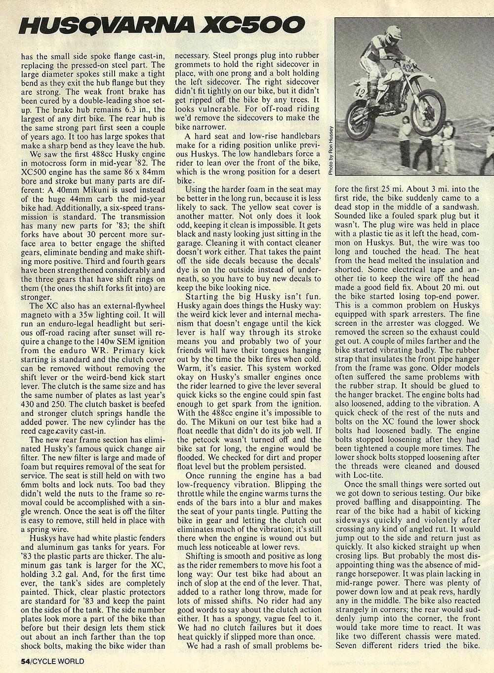 1983 Husqvarna XC500 road test 03.jpg