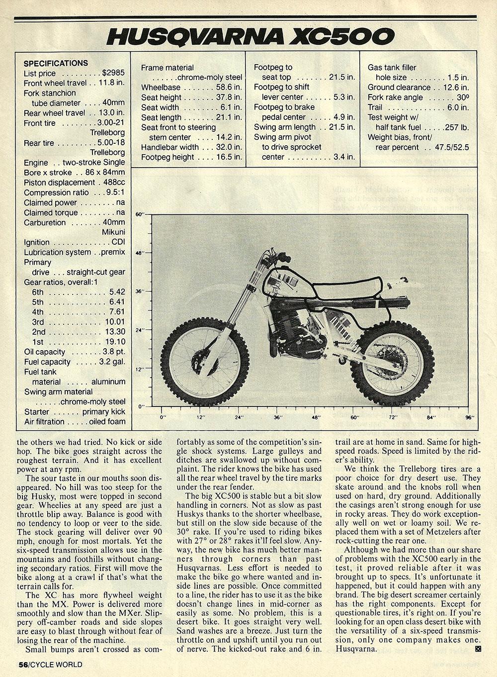 1983 Husqvarna XC500 road test 05.jpg