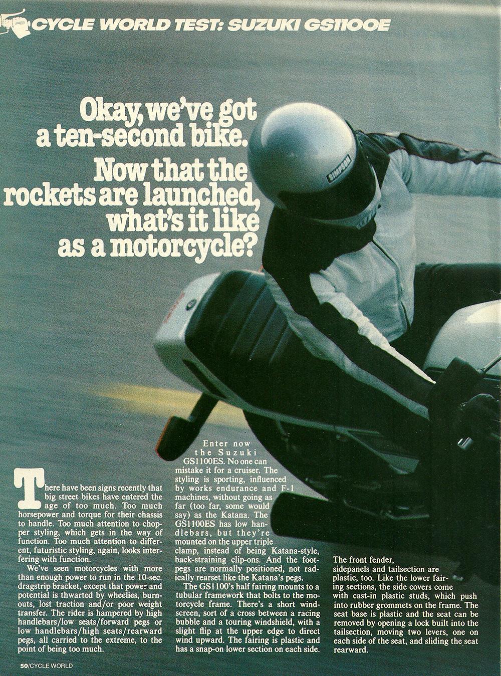 1983 Suzuki GS1100E road test 01.jpg