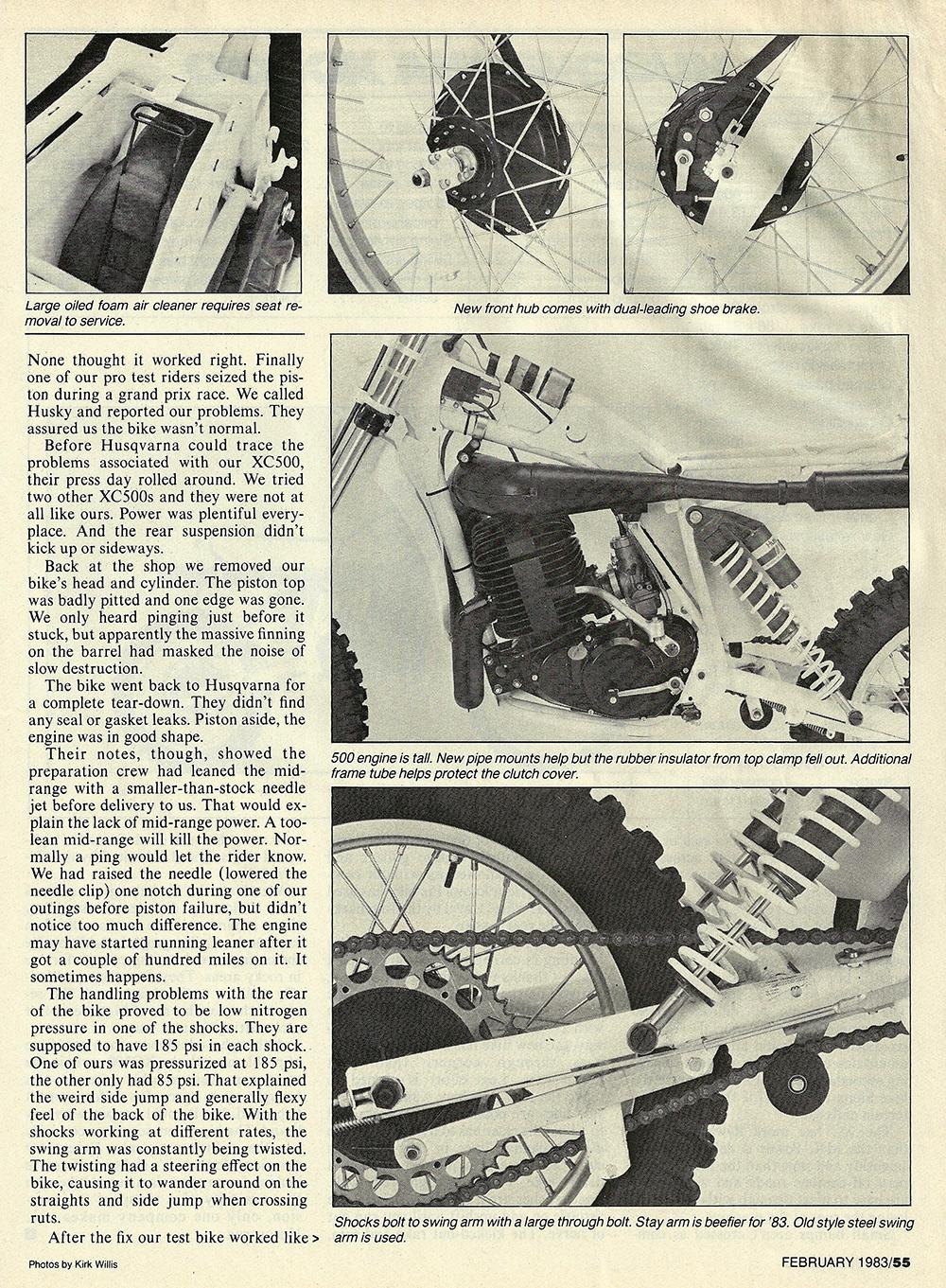 1983 Husqvarna XC500 road test 04.jpg