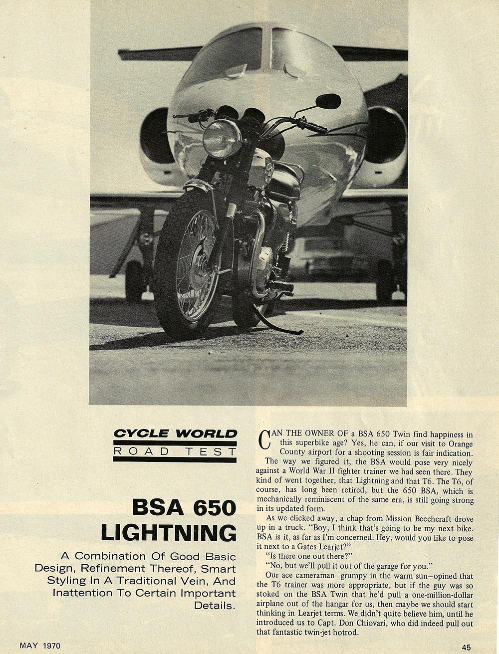1970 BSA 650 Lightning road test 01.jpg