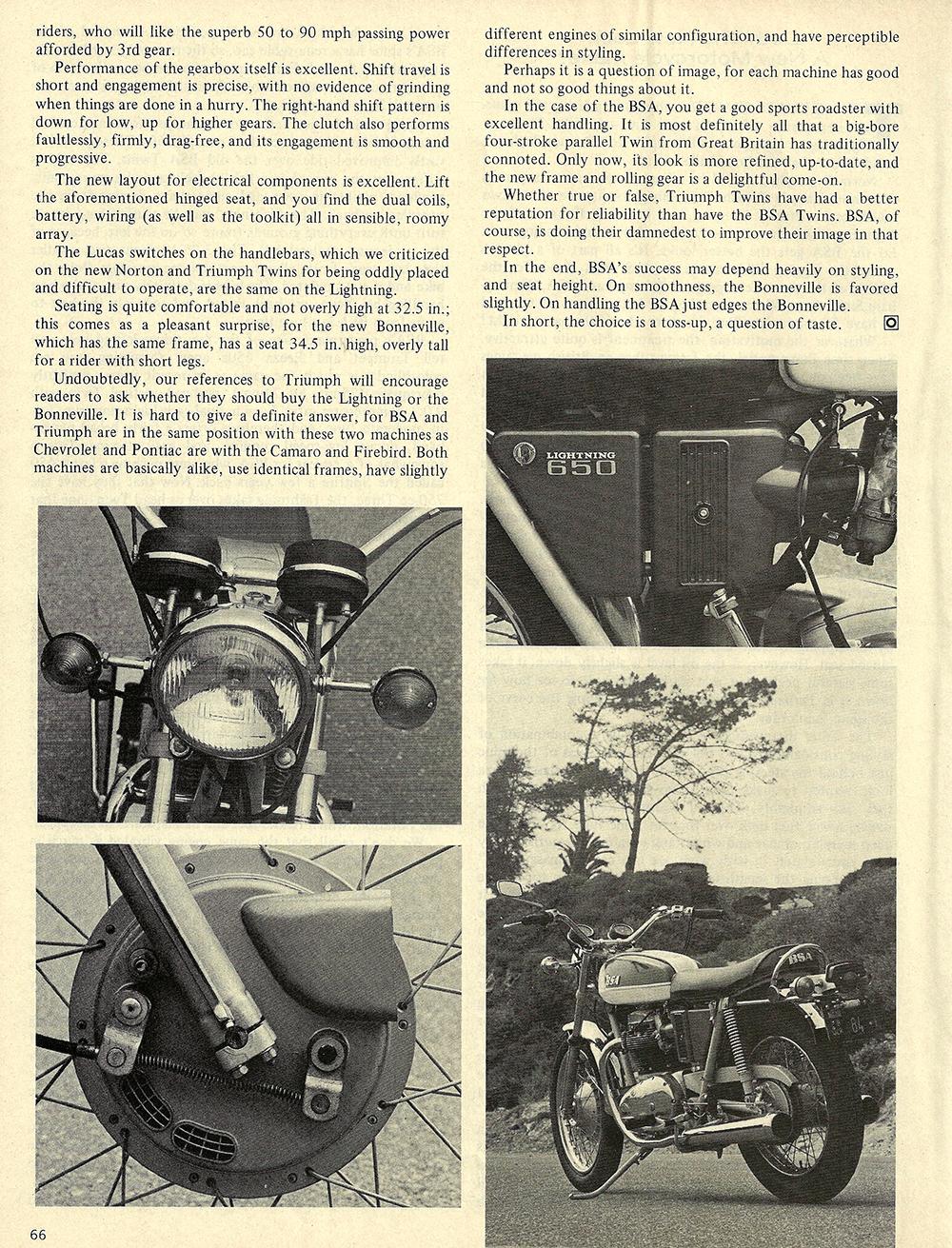 1971 BSA 650 Lightning road test 03.jpg