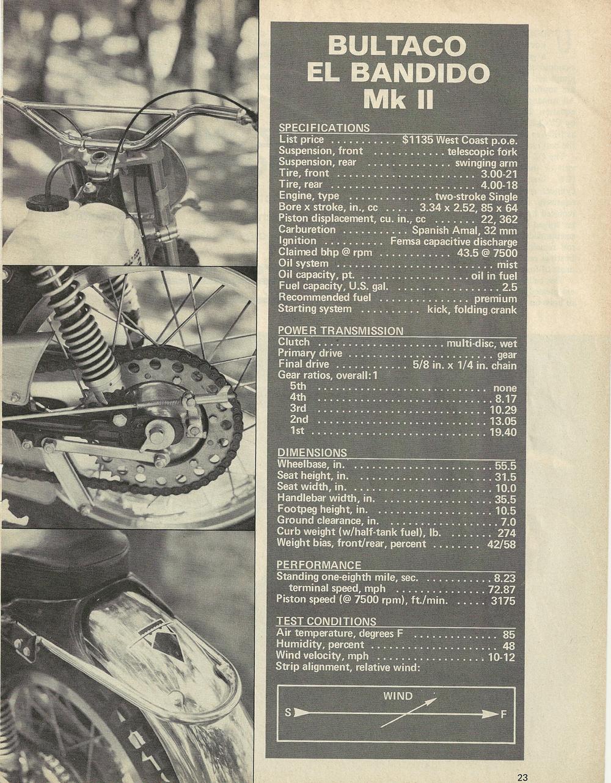 1969 Bultaco El Bandido MK 2 Road test 4.jpg