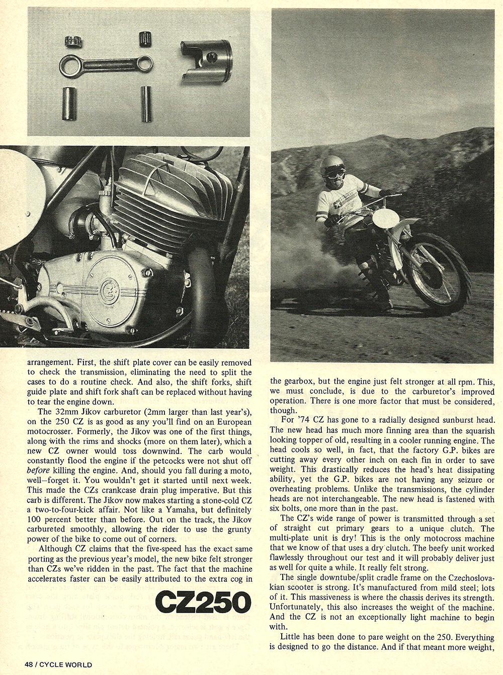 1974 CZ 250 road test 2.jpg