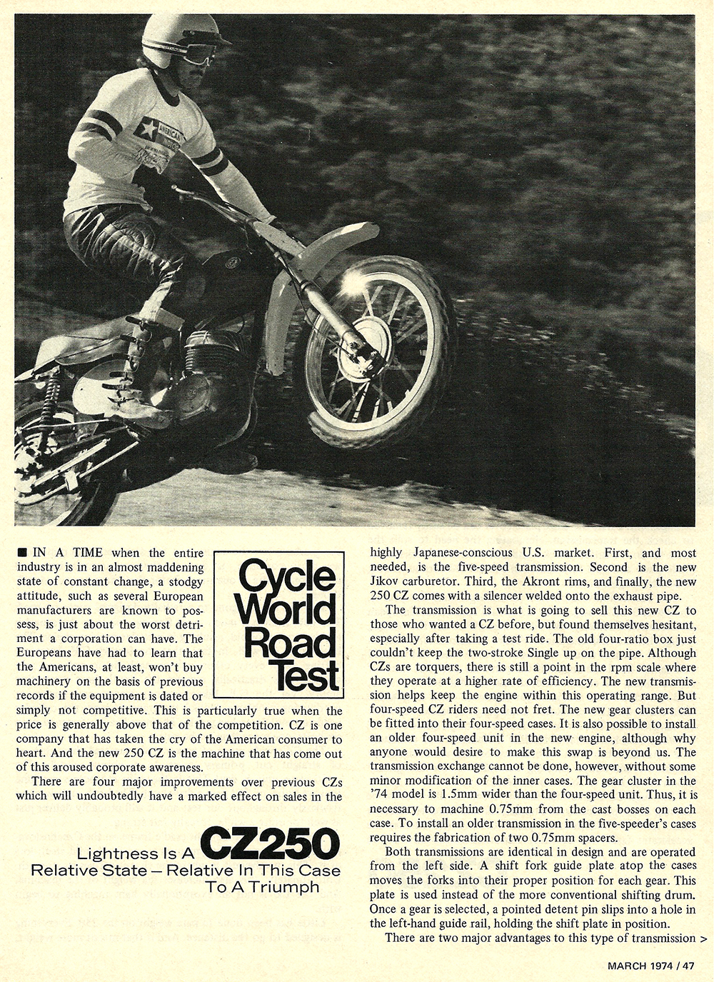 1974 CZ 250 road test 1.jpg