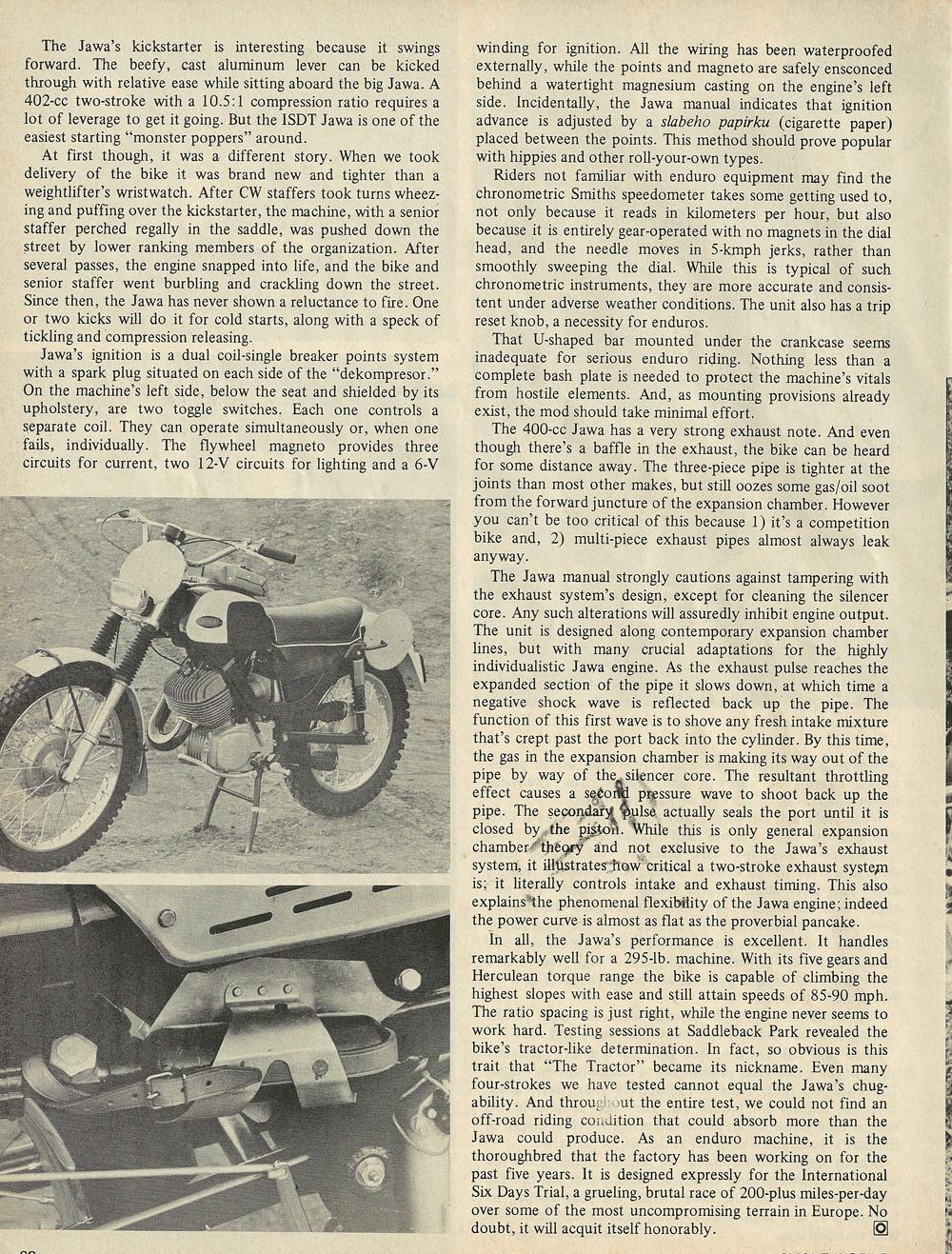 1969 Jawa 402cc Gelandesport road test 3.jpg