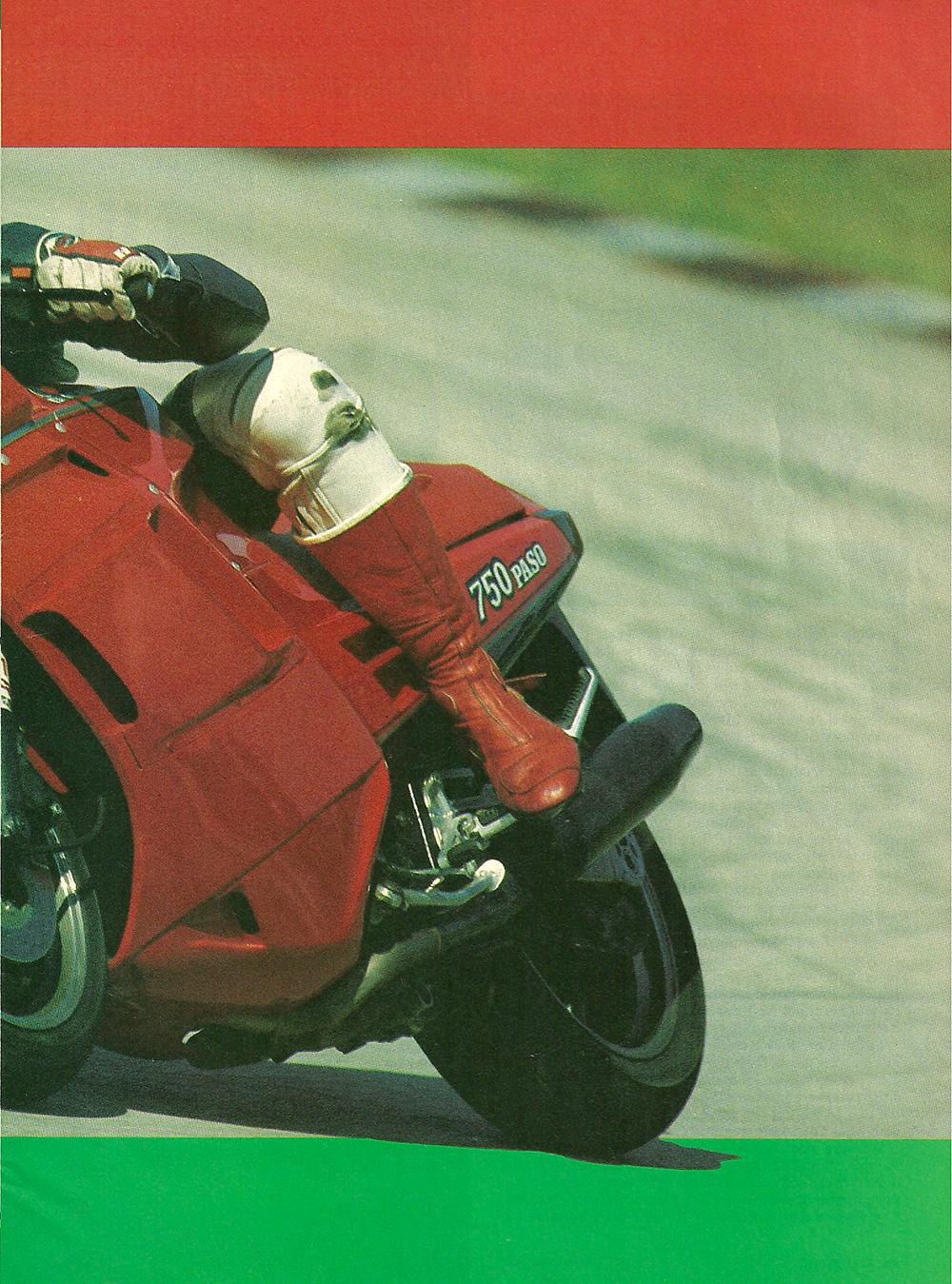 1986 Cagiva-Ducati 750 Paso road test 02.jpg