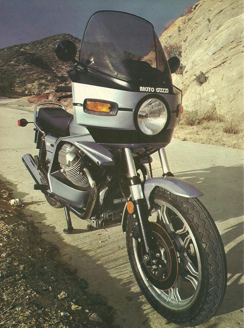 1979 Moto Guzzi 1000 SP road test 03.jpg