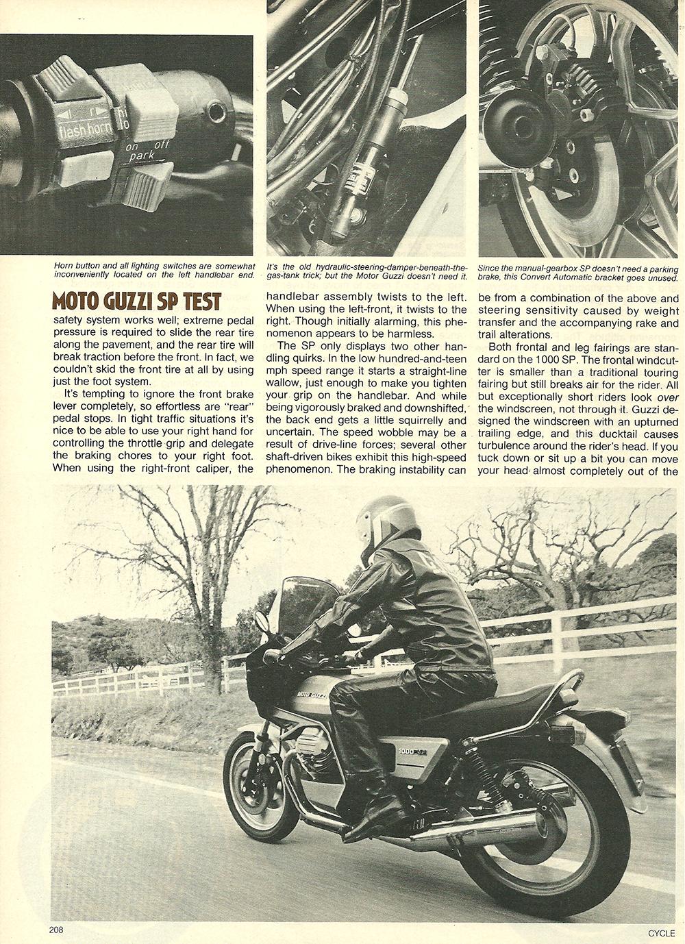 1979 Moto Guzzi 1000 SP road test 07.jpg