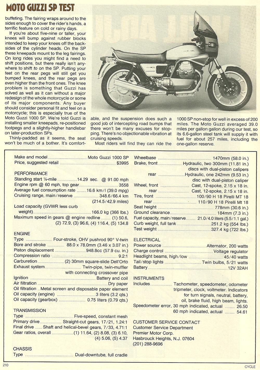 1979 Moto Guzzi 1000 SP road test 08.jpg