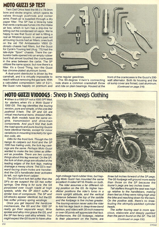 1979 Moto Guzzi 1000 SP road test 09.jpg