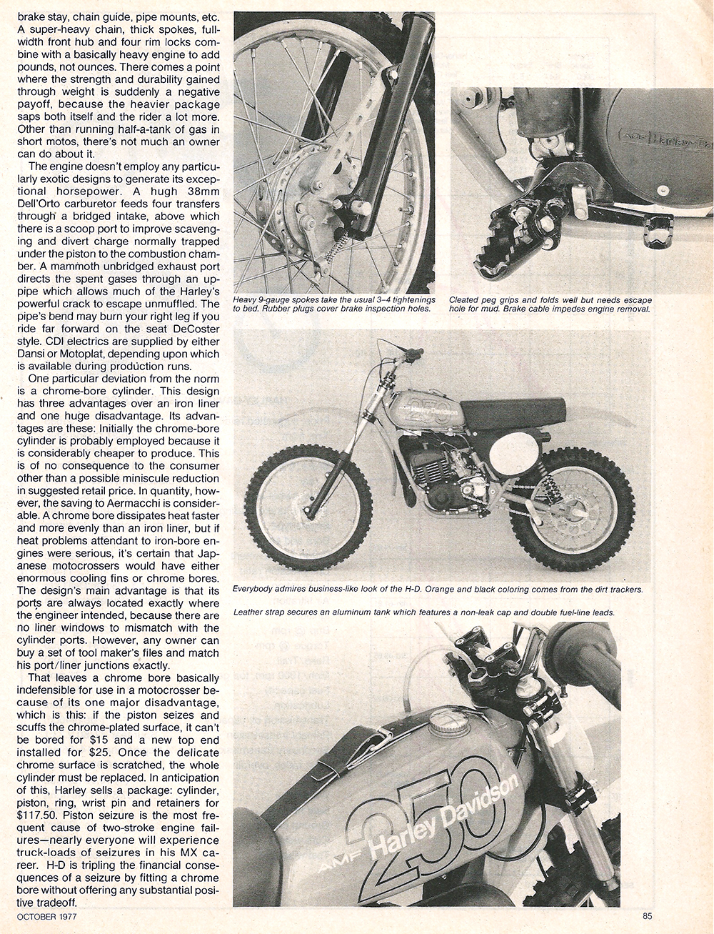 1977 Harley Davidson 250 MX road test 4.jpg