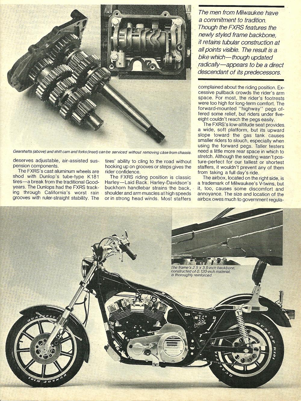 1982 Harley-Davidson FXRS road test 06.jpg