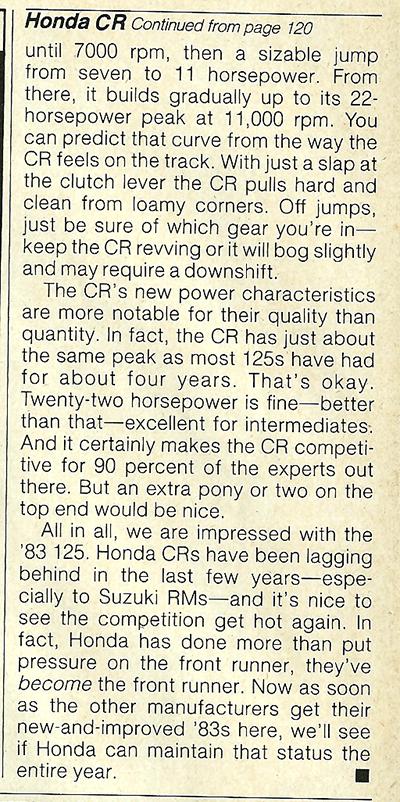 1983 Honda CR125R road test 8.jpg