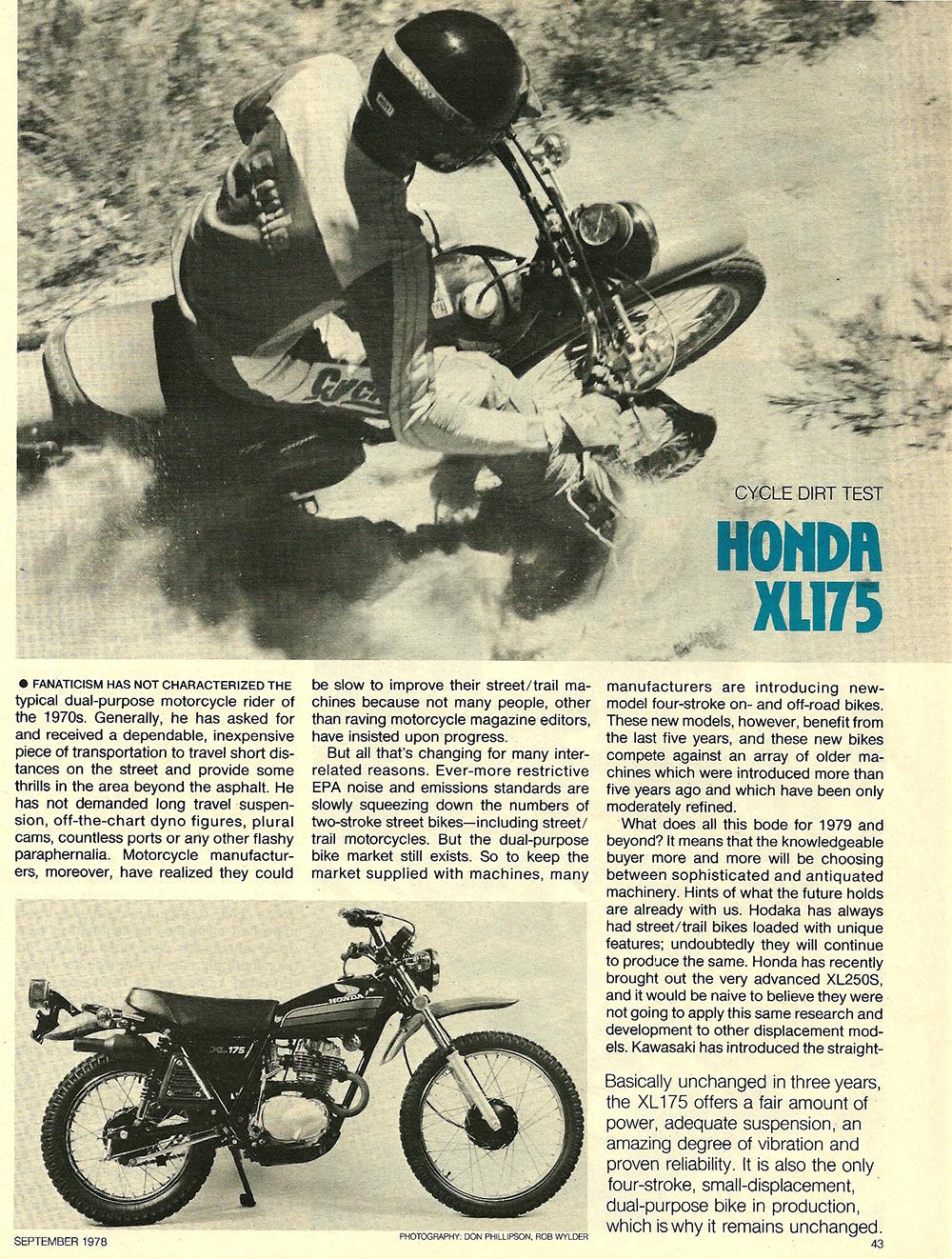 1978 Honda XL175 road test 01.jpg