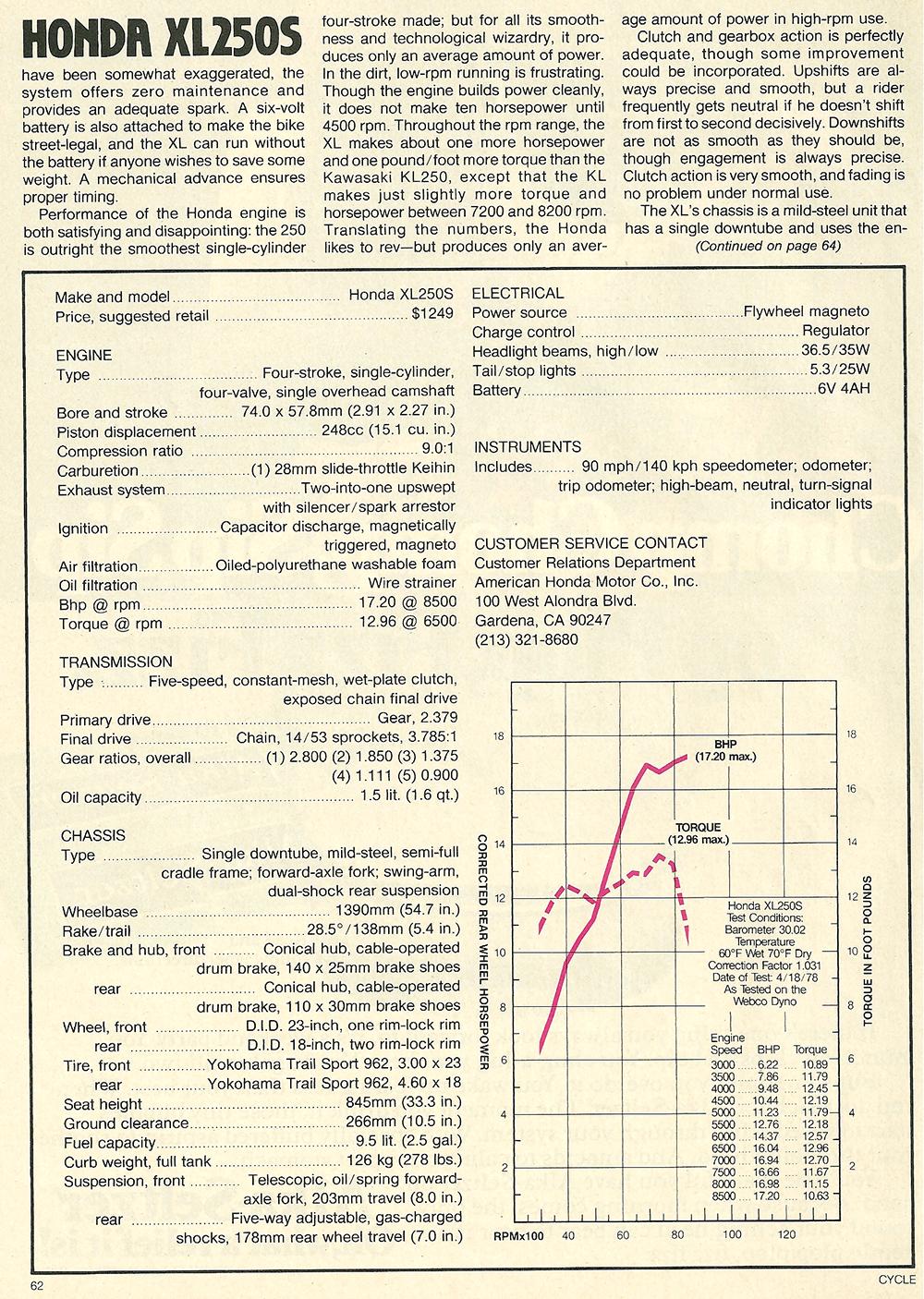 1978 Honda XL250S road test 07.jpg