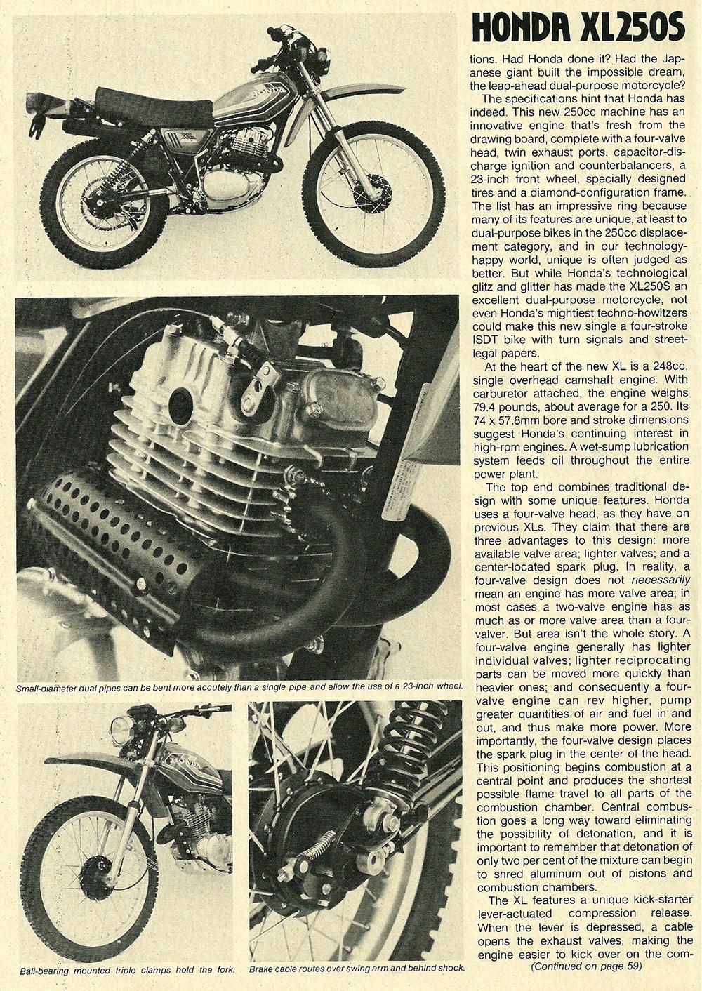 1978 Honda XL250S road test 03.jpg