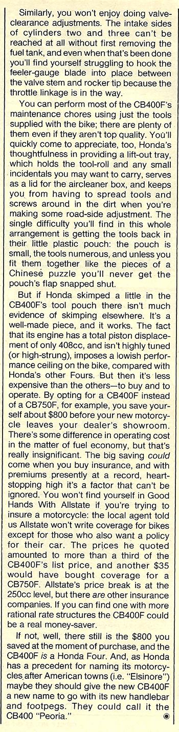1977 Honda CB400F road test 10.jpg