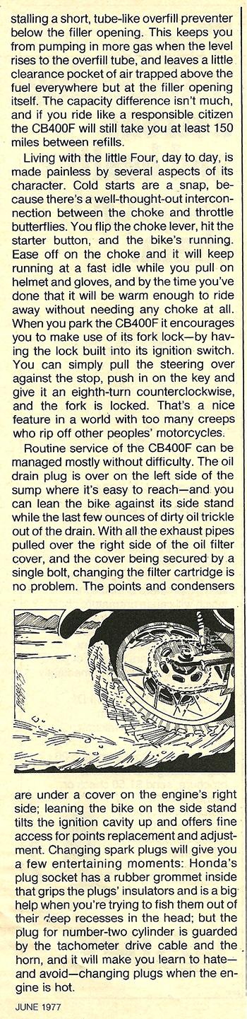 1977 Honda CB400F road test 09.jpg