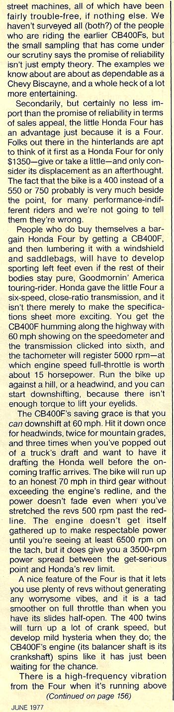 1977 Honda CB400F road test 07.jpg