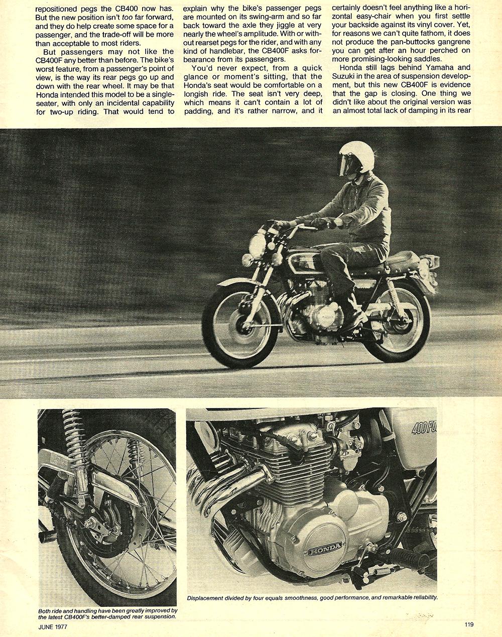 1977 Honda CB400F road test 03.jpg