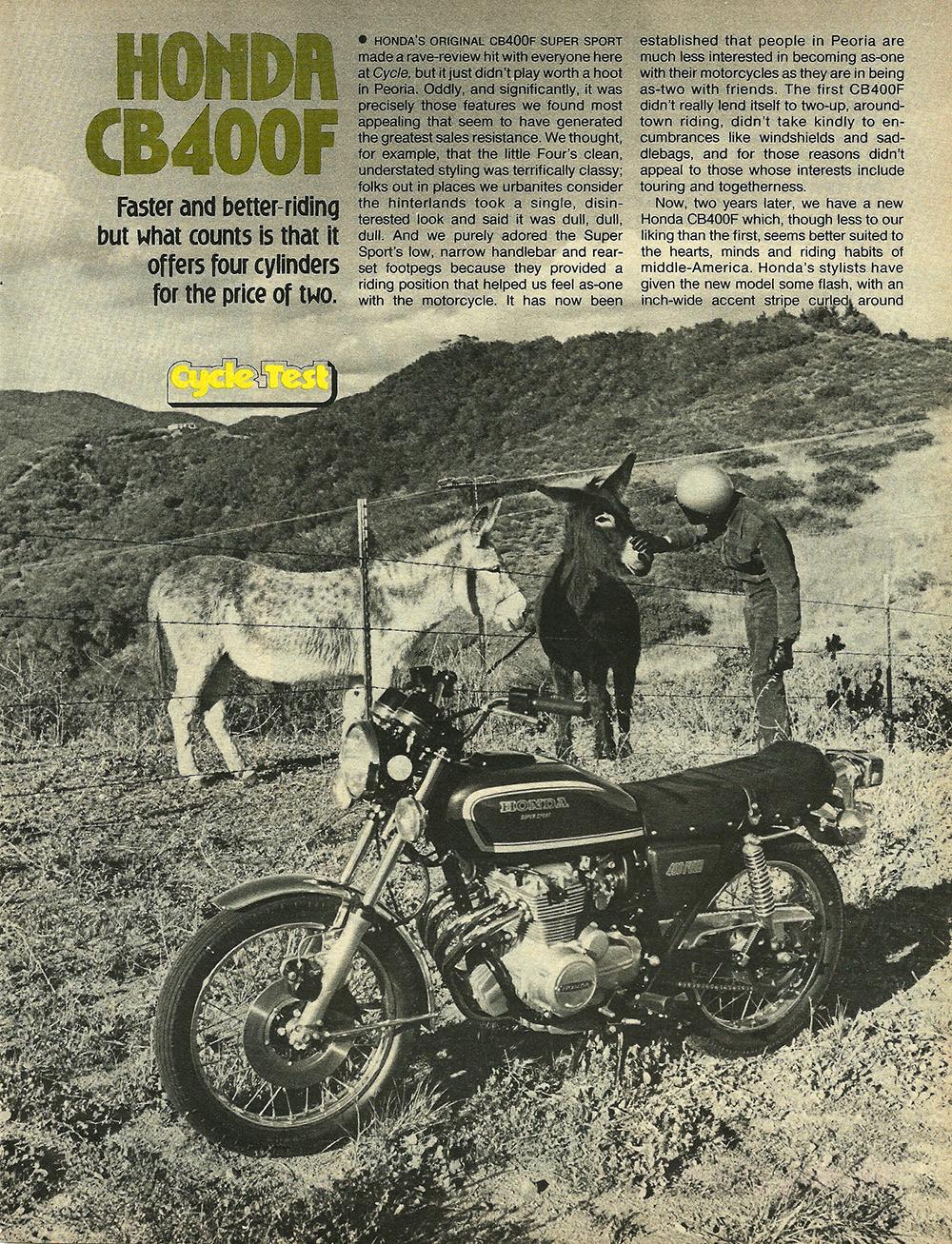 1977 Honda CB400F road test 01.jpg