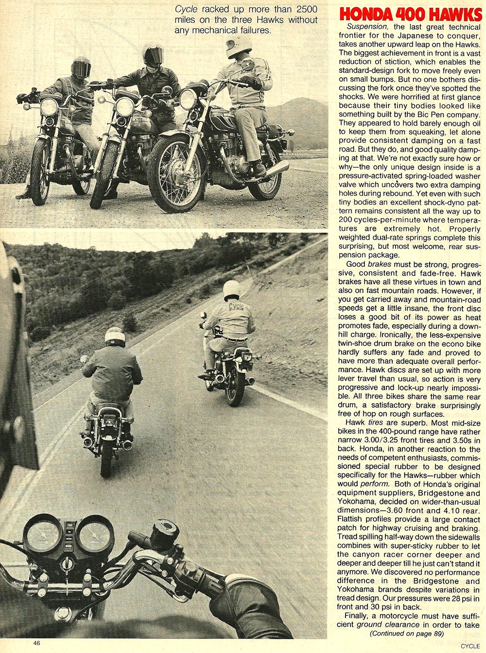 1977 Honda 400 Hawk road test 09.jpg