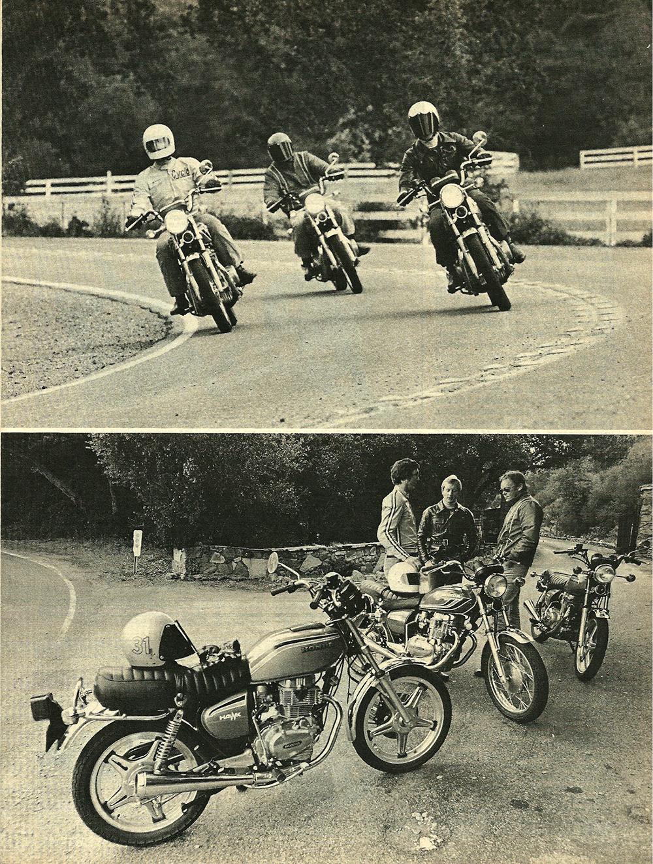 1977 Honda 400 Hawk road test 04.jpg