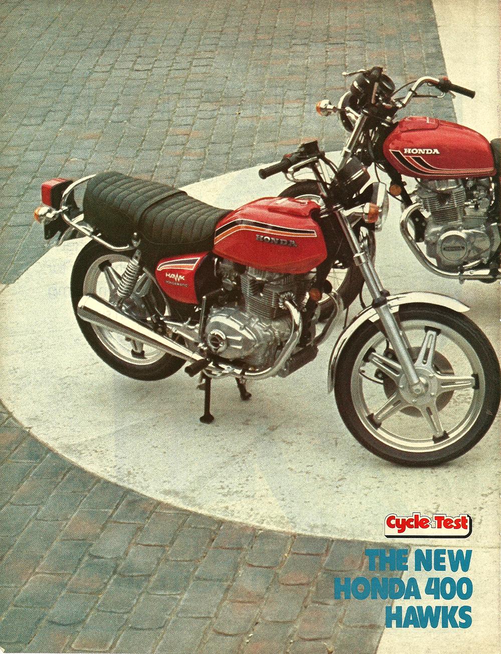 1977 Honda 400 Hawk road test 01.jpg