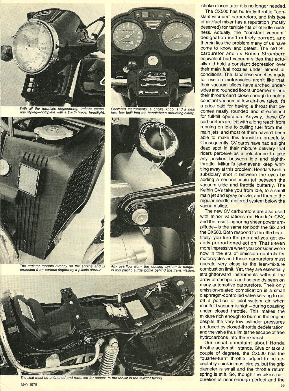 1978 Honda CX500 road test 04.jpg
