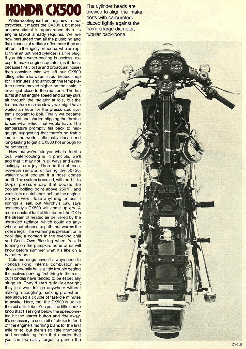 1978 Honda CX500 road test 03.jpg