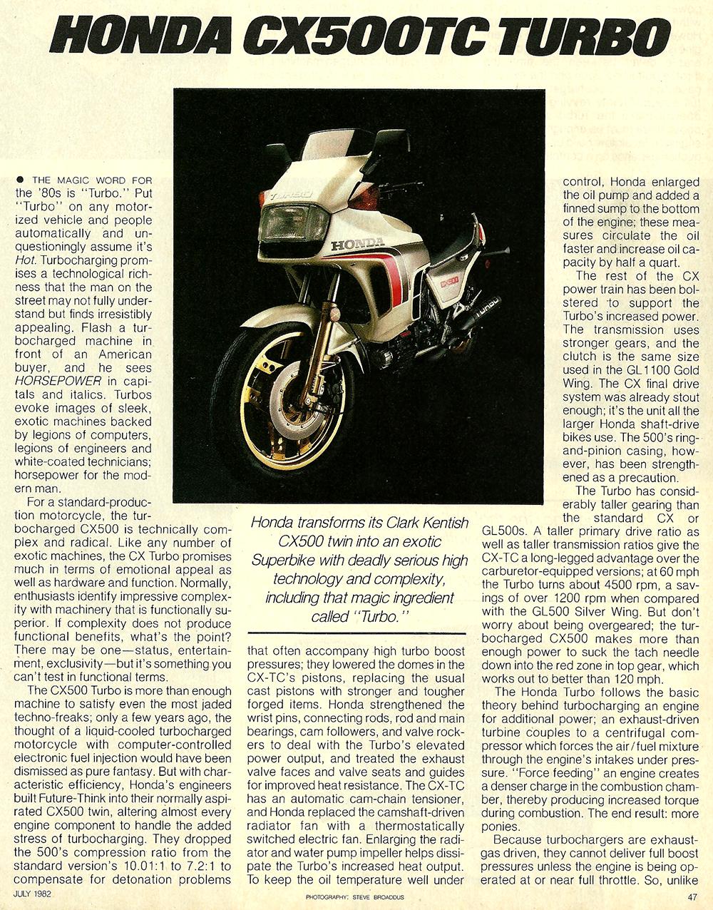 1982 Honda CX500TC Turbo road test 02.jpg