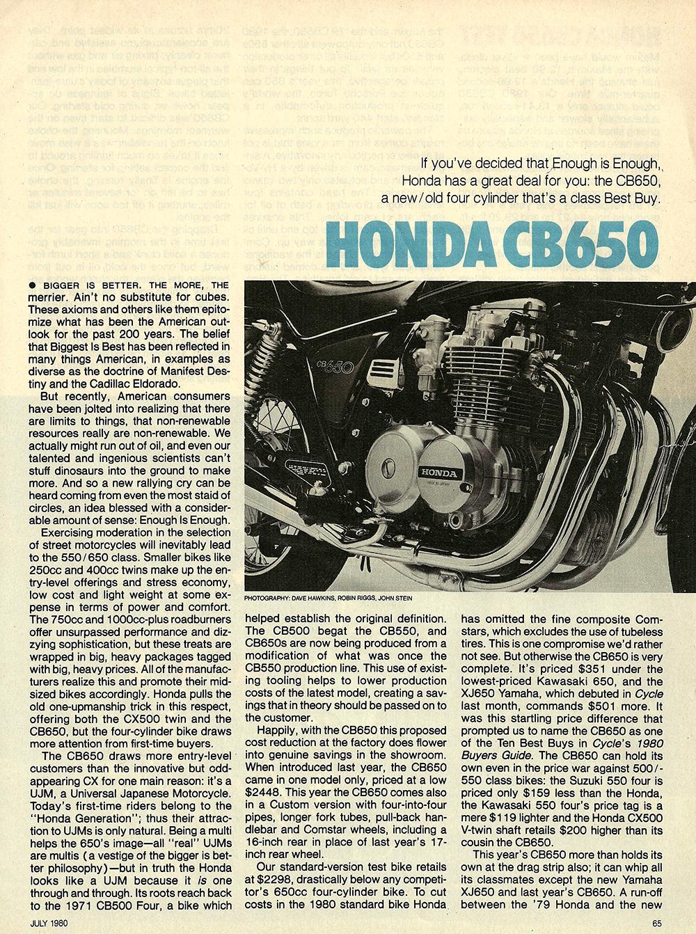 1980 Honda CB650 road test 02.jpg