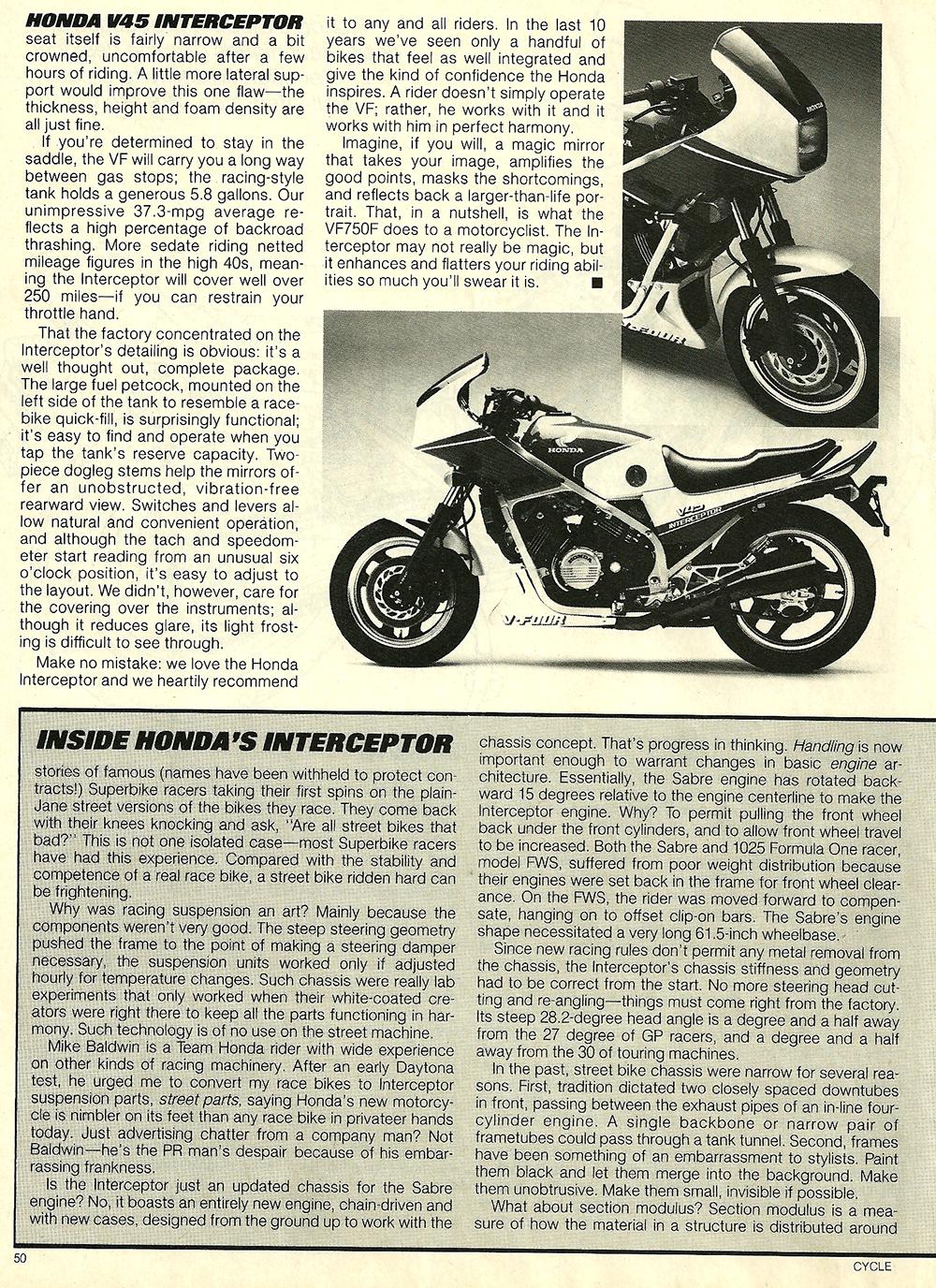 1983 Honda V45 Interceptor road test 10.jpg