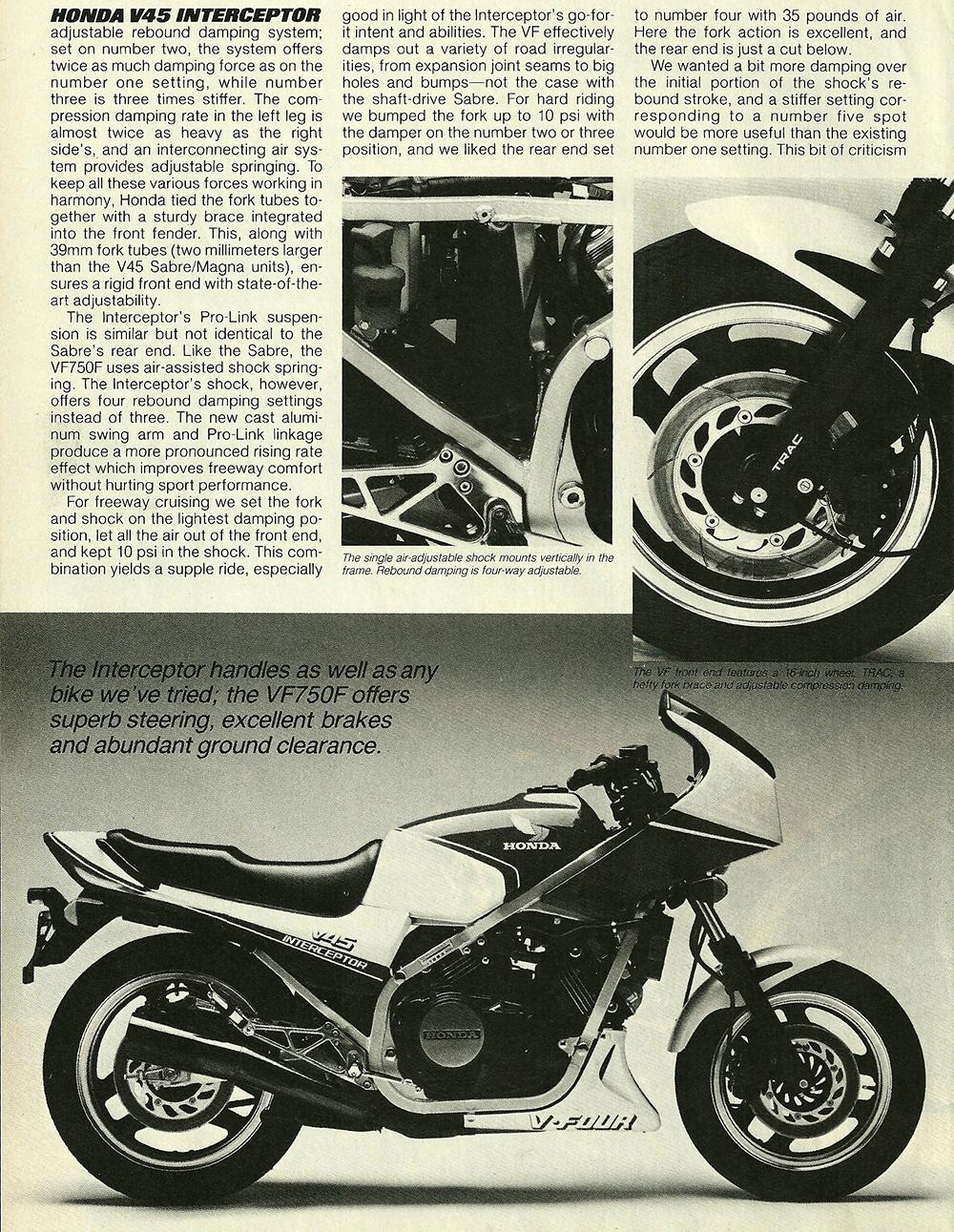 1983 Honda V45 Interceptor road test 05.jpg